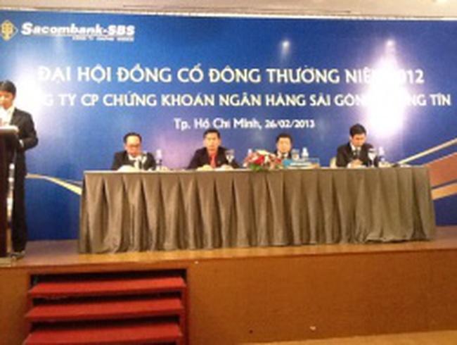 SBS: Sacombank đã trình phương án xử lý 800 tỷ đồng TPCĐ lên NHNN