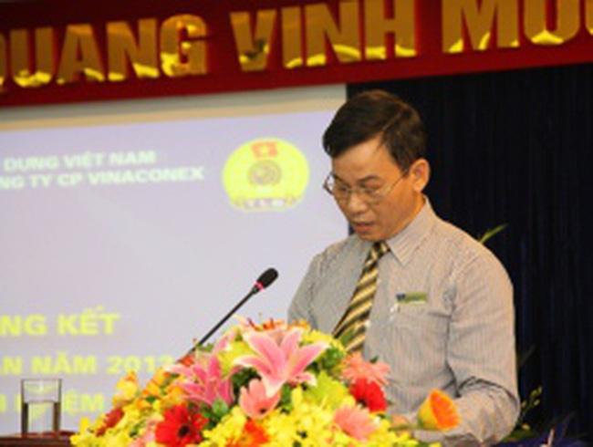 Tổng công ty Vinaconex giảm hơn 1.670 lao động năm 2012