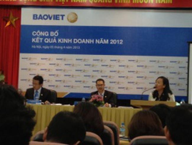 BVH lên kế hoạch giữ mức cổ tức 15% năm 2013