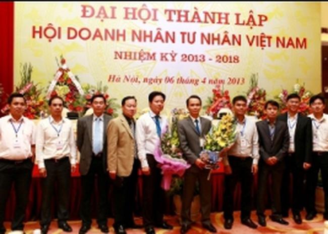Chủ tịch FLC được bầu làm Phó chủ tịch TW Hội Doanh nhân tư nhân Việt Nam