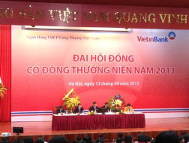 ĐHCĐ Ngân hàng Vietinbank