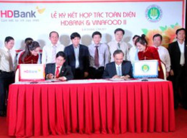 HDBank và Vinafood 2 ký kết hợp tác toàn diện