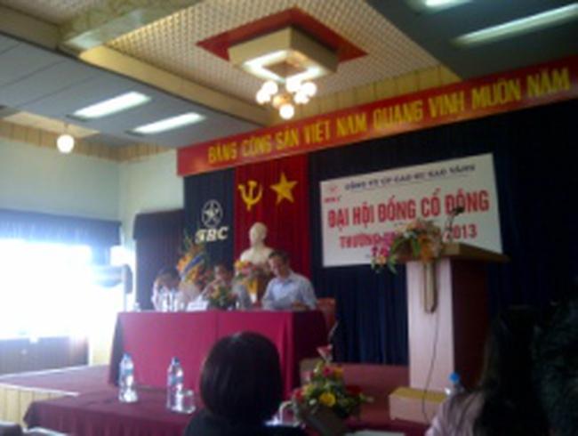 [Trực tiếp] Đại hội cổ đông SRC-Cao Su Sao Vàng: Nhức nhối vấn đề người lao động
