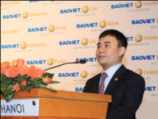 ĐHCĐ Bảo Việt: Ra mắt Tổng giám đốc mới, nâng tỷ lệ cổ tức 2012 lên 15%