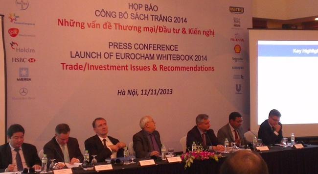 EuroCham chính thức công bố Sách trắng 2014