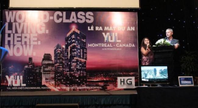 Dự án BĐS YUL của Montreal, Canada ra mắt thành công tại Việt Nam