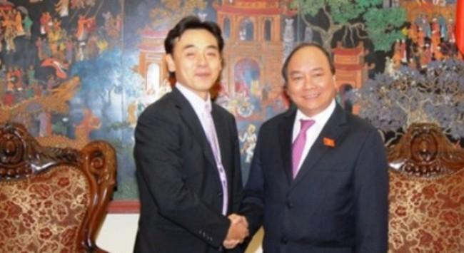 Phó Thủ tướng Nguyễn Xuân Phúc tiếp Trưởng Đại diện JICA