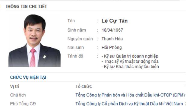 Ông Lê Cự Tân quyết chi đậm mua cổ phiếu DPM sau 3 tuần nhậm chức Chủ tịch HĐQT