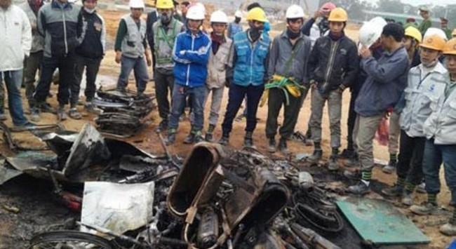 Thái Nguyên báo cáo Thủ tướng về vụ xô xát tại Nhà máy Samsung