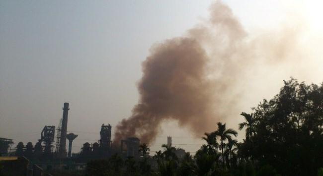 Hải Phòng: Người dân bao vây nhà máy luyện gang Vạn Lợi gây ô nhiễm