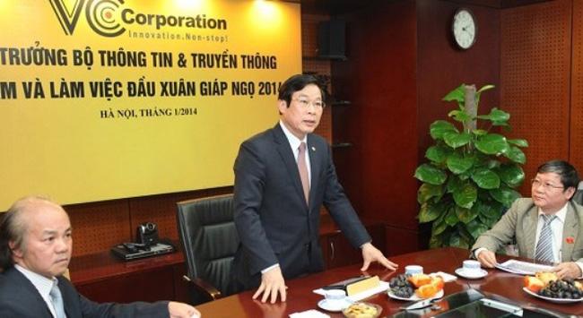 Bộ trưởng Nguyễn Bắc Son: Tôi ấn tượng với thành tựu của VCCorp