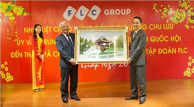 Phó chủ tịch Quốc hội Uông Chu Lưu thăm và làm việc với Tập đoàn FLC