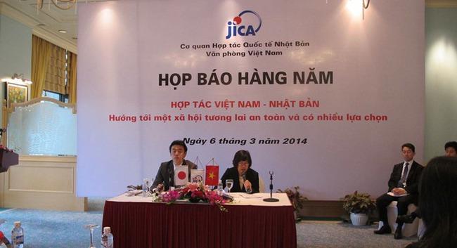 Năm tài khóa 2013, Nhật Bản rót khoảng 200 tỷ Yên vốn vay cho Việt Nam