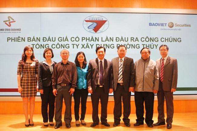 IPO VINAWACO: Thành công 100% cổ phần đem đấu giá
