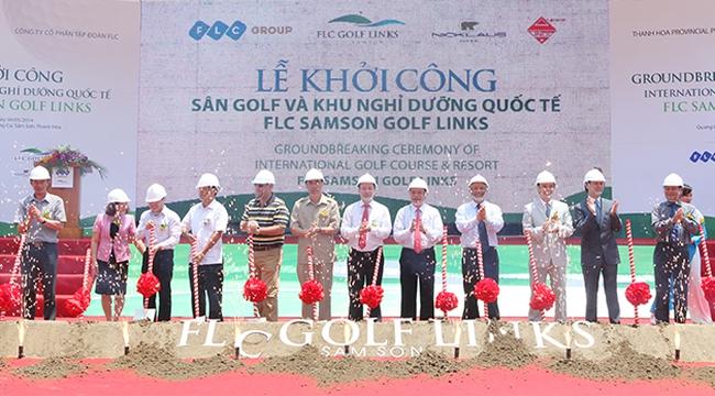 FLC được tỉnh Thanh Hóa cho phép khai thác cát biển ở Sầm Sơn