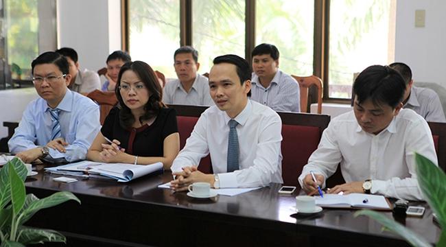 FLC tìm hiểu cơ hội đầu tư vào Khánh Hòa