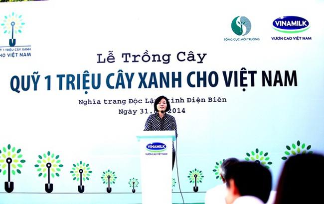 Quỹ 1 triệu cây xanh cho Việt Nam tại Điện Biên
