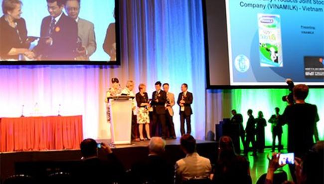 Vinamilk đoạt giải thưởng công nghệ thực phẩm toàn cầu