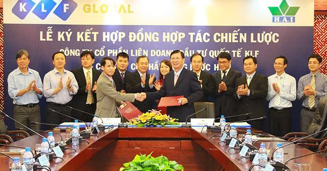 KLF ký hợp tác chiến lược với Nông dược HAI