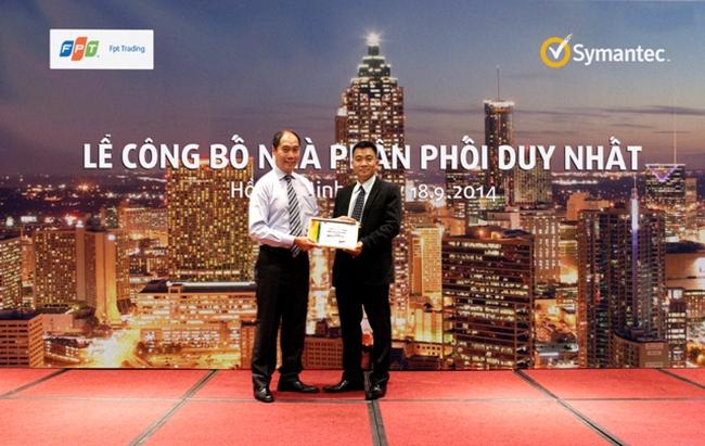FPT Trading là nhà phân phối duy nhất của hãng Symantec tại Việt Nam