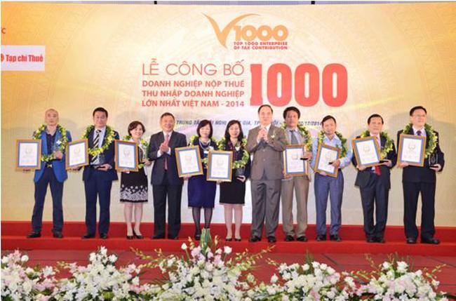 Vingroup lọt top 10 doanh nghiệp nộp thuế lớn nhất Việt Nam 2014