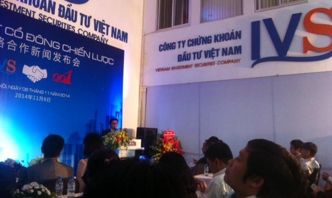 IVS công bố cổ đông chiến lược-chủ tịch tập đoàn 001Triết Giang