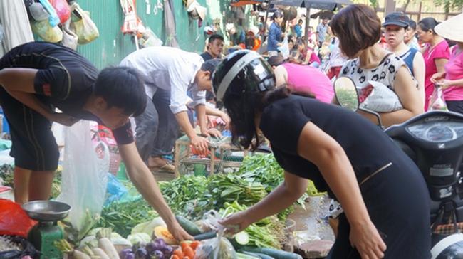 TP Hà Nội chủ trương giữ mô hình chợ dân sinh cho 3 dự án