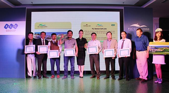 Hoa hậu Jennifer Phạm giới thiệu cơ hội đầu tư vào sân golf lớn nhất Bắc Trung Bộ