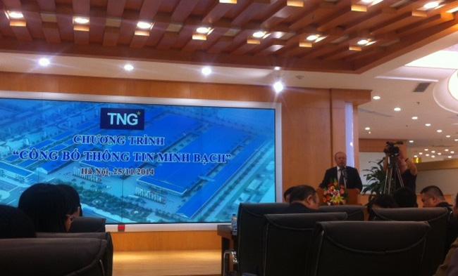 TNG dự kiến vượt kế hoạch lợi nhuận năm 2014, triển khai Công bố thông tin minh bạch
