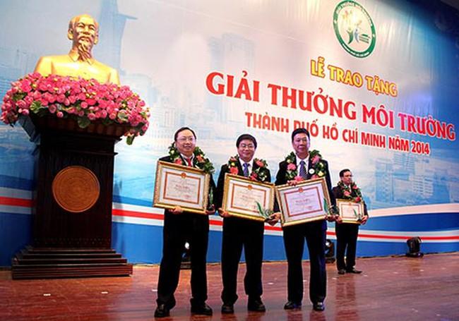 Cả 3 nhà máy của Vinamilk ở TP HCM nhận giải thưởng Môi trường