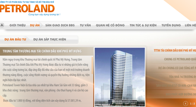 Petroland lỗ tiếp 23 tỷ đồng quý 3, 9 tháng lỗ 66 tỷ đồng