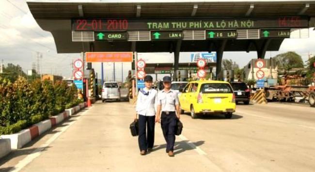 Tăng mức phí cầu Bình Triệu và xa lộ Hà Nội