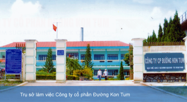 Đường Kon Tum chốt quyền tạm ứng cổ tức bằng tiền mặt tỷ lệ 20%