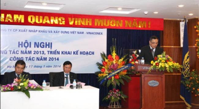 Vinaconex ước lãi hợp nhất trước thuế 300 tỷ đồng