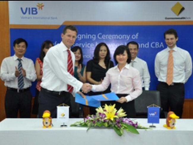 VIB và Commonwealth CBA hợp tác chiến lược