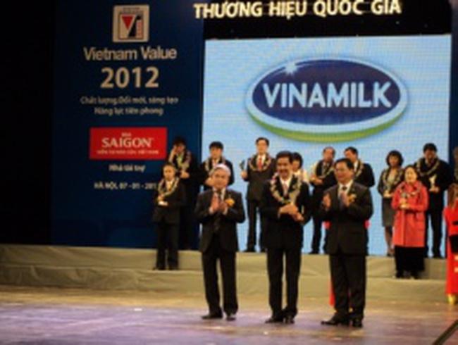 Vinamilk đạt doanh thu 27.300 tỷ đồng năm 2012