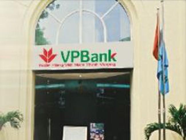 VPBank: Quý 3 lãi sau thuế 202 tỷ đồng