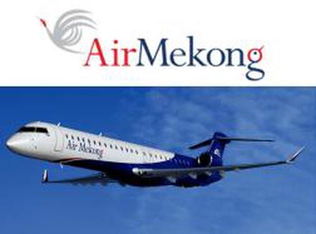 Air Mekong sa lầy vì máy bay, đường bay