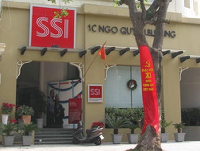Công ty mẹ SSI lãi 53 tỷ đồng quý 3, tăng mạnh nhờ ít phải trích lập dự phòng