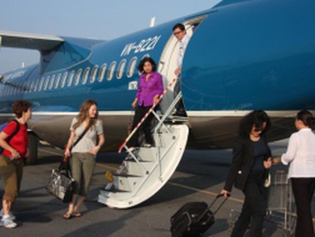 """""""Cổ phiếu Vietnam Airlines sẽ trên một chấm"""""""