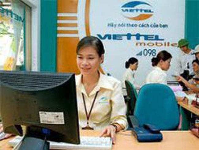 Thu nhập bình quân của nhân viên Viettel là 18 triệu đồng/tháng