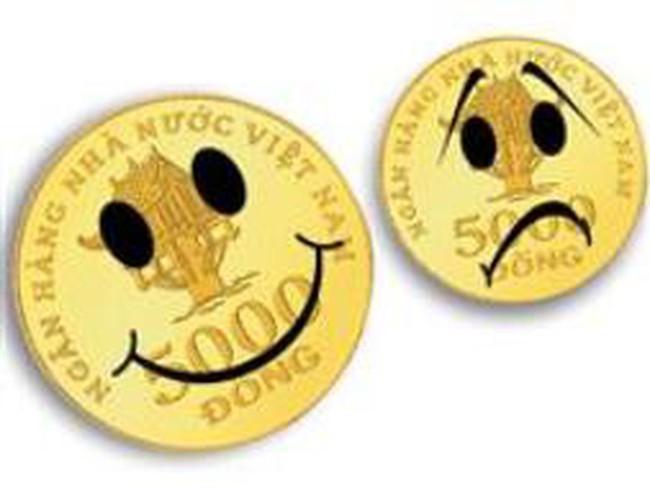 Khóc, cười với tiền mặt