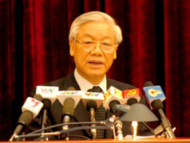 Khai mạc Hội nghị lần thứ 6 Ban Chấp hành Trung ương Đảng khoá XI