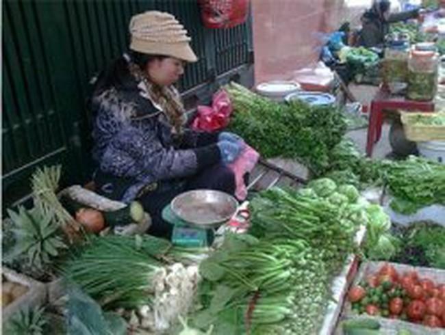 Trời lạnh, giá rau xanh tăng vọt