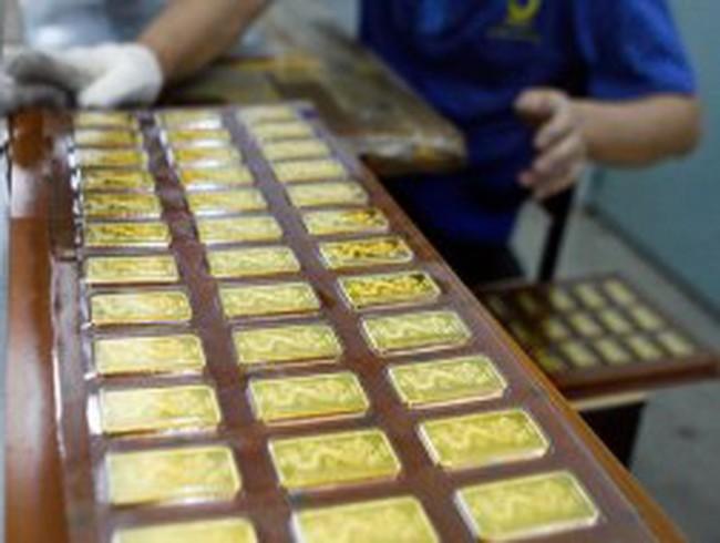 Đã gia công xong 30.000 lượng vàng SJC