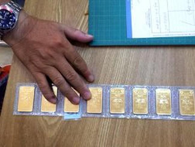Vàng phi SJC có được tái xuất-nhập?