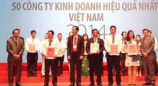 OCH lọt vào top 50 công ty kinh doanh hiệu quả nhất Việt Nam