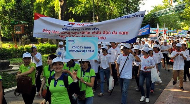 NCB đồng hành cùng nạn nhân chất độc da cam và người khuyết tật nghèo