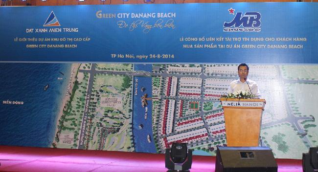 200 nền đất dự án Green City Da Nang Beach hết hàng ngày đầu giới thiệu