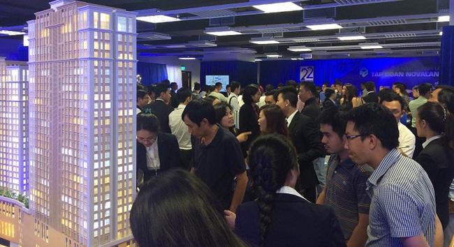 Hàng nghìn khách hàng tham gia buổi giới thiệu các dự án được phát triển bởi Novaland